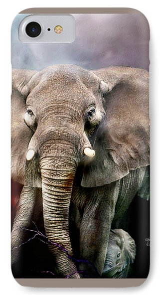 Africa - Protection Phone Case by Carol Cavalaris