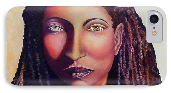 An African Face IPhone Case by Caroline Street