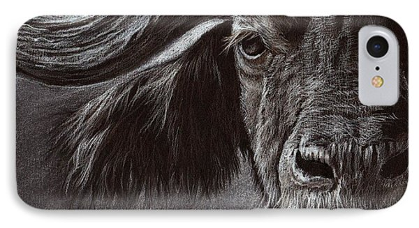 African Buffalo IPhone Case by Heidi Kriel