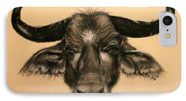 African Buffalo IPhone Case
