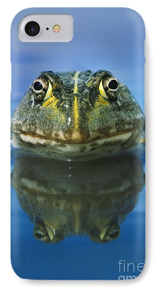 African Bullfrog Phone Case by Frans Lanting MINT Images