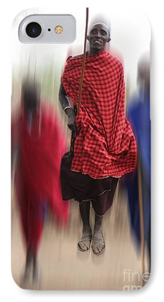 IPhone Case featuring the photograph African Dance by Christine Sponchia