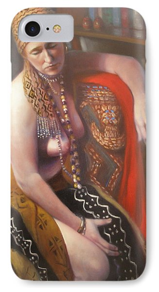 IPhone Case featuring the painting African Drum #2 by Donelli  DiMaria