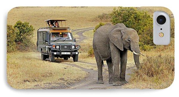 African Elephant IPhone Case by Bildagentur-online/mcphoto-schulz