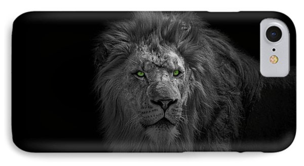 IPhone Case featuring the photograph African Lion by Peter Lakomy
