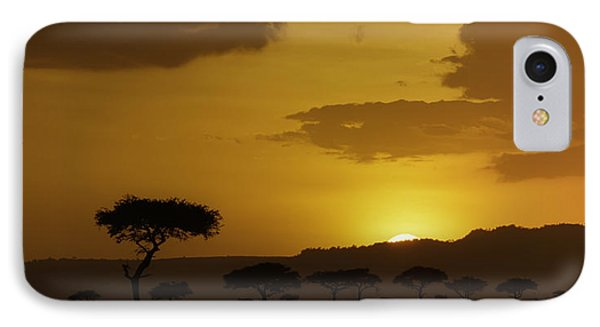 African Sunrise IPhone Case by Sebastian Musial