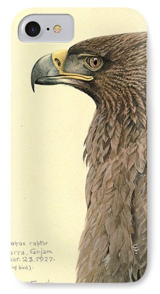 African Tawny Eagle IPhone Case