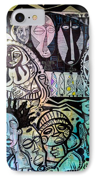 African Village IPhone Case by Robert Daniels