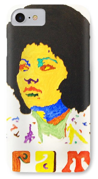 IPhone Case featuring the painting Afro Pam Grier by Stormm Bradshaw