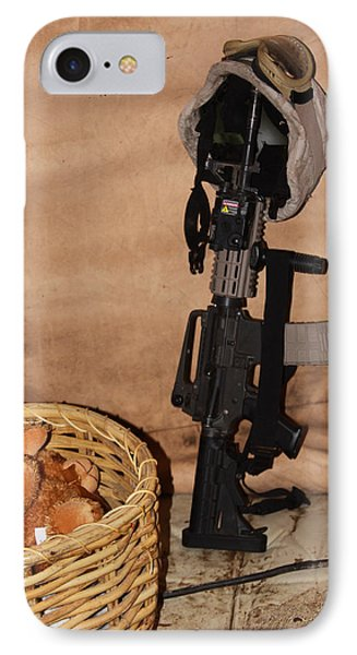 After A Hard Day In Combat Phone Case by Shoal Hollingsworth
