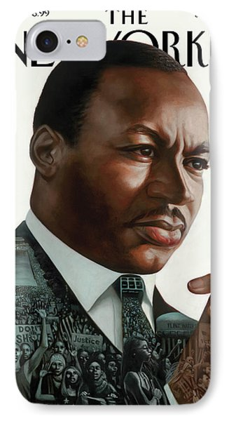 After Dr. King IPhone Case by Kadir Nelson