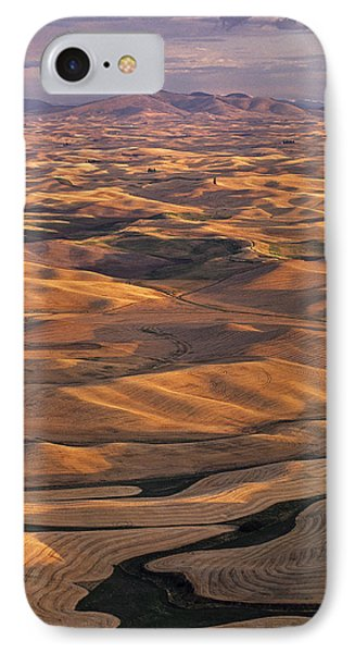 After Harvest From Steptoe Butte IPhone Case by Latah Trail Foundation
