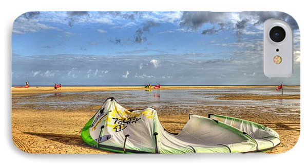 IPhone Case featuring the photograph After Kiteboarding Session by Julis Simo