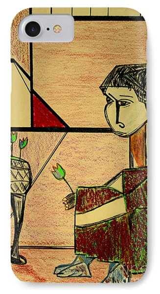after Picasso IPhone Case by Bill OConnor