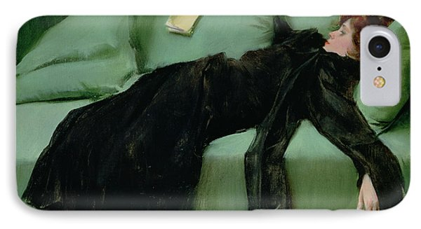 After The Ball  IPhone Case by Ramon Casas i Carbo