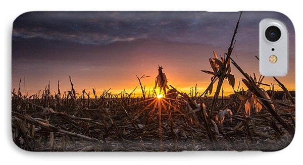 After The Harvest  IPhone Case by Aaron J Groen