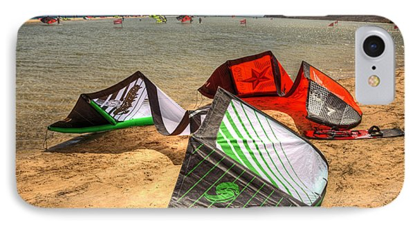 IPhone Case featuring the photograph After The Kite Session by Julis Simo