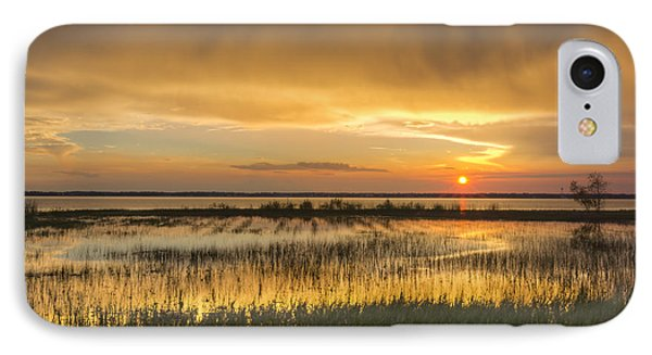 After The Rain Phone Case by Debra and Dave Vanderlaan