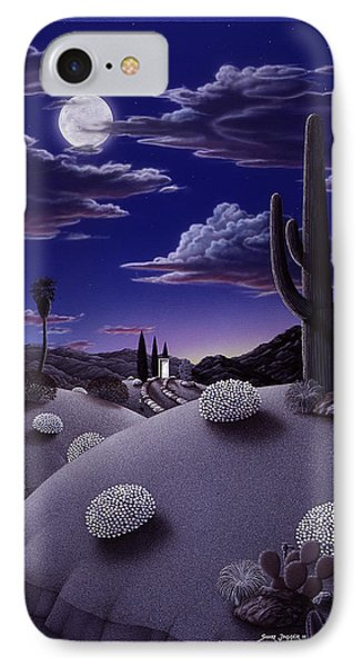 Desert iPhone 7 Case - After The Rain by Snake Jagger