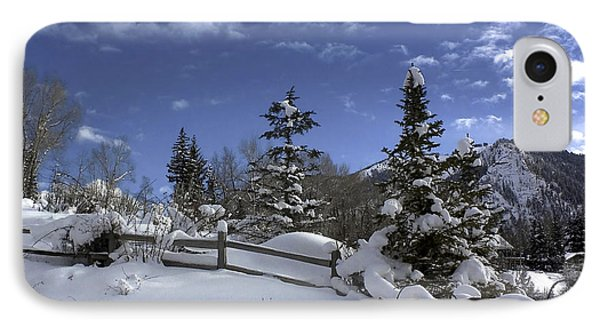 After The Snow IPhone Case by Kim Hojnacki