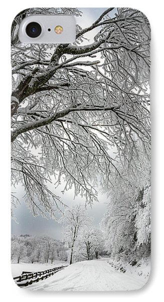 After The Snow Storm Phone Case by John Haldane
