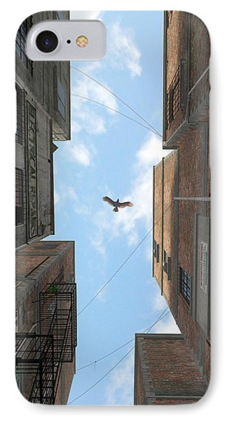 Afternoon Alley Phone Case by Cynthia Decker