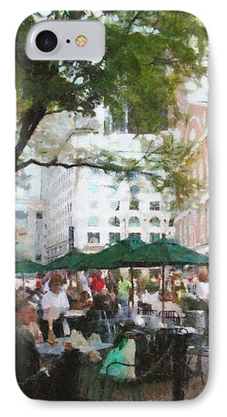 Afternoon At Faneuil Hall Phone Case by Jeff Kolker