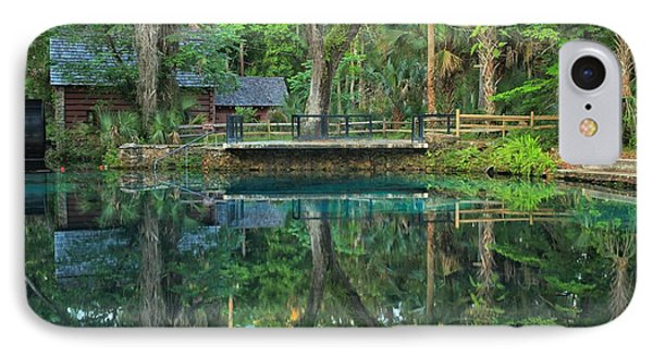 Afternoon At Juniper Springs Mill House IPhone Case