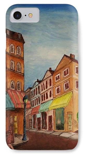 Afternoon Cafe Phone Case by Irving Starr