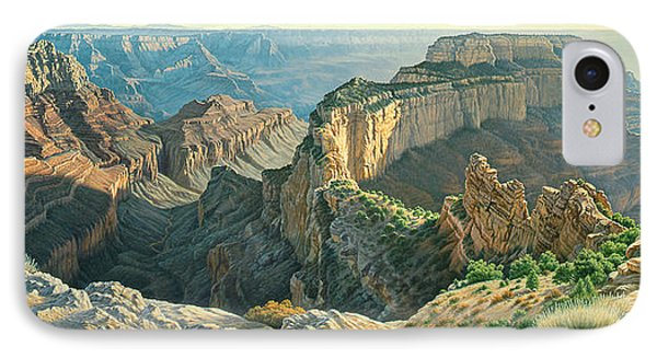 Afternoon-north Rim IPhone Case by Paul Krapf