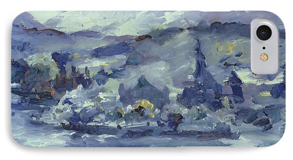 Afternoon On Lake Lucerne IPhone Case by Lovis Corinth