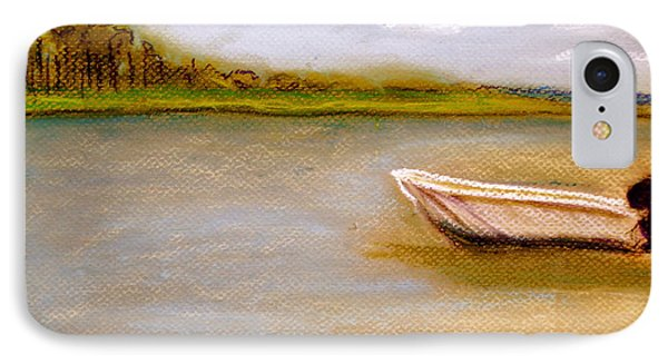 IPhone Case featuring the painting Tybee Island Afternoon On Alley 3 by D Renee Wilson