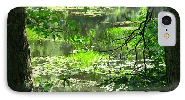 IPhone Case featuring the photograph Afternoon Reflections by Bruce Carpenter