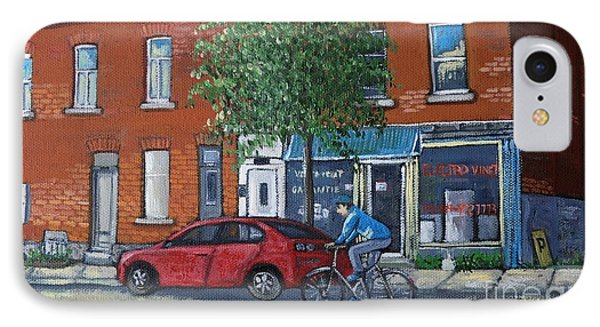 Afternoon Ride Pointe St Charles Phone Case by Reb Frost