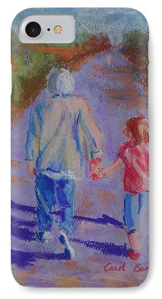 Afternoon Stroll IPhone Case by Carol Berning