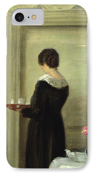 Afternoon Tea IPhone Case by Carl Holsoe