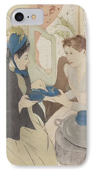 Afternoon Tea Party IPhone Case by Celestial Images