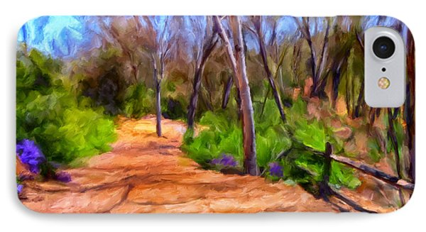 Afternoon Walk Phone Case by Michael Pickett