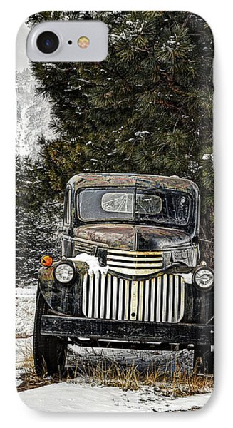 Afther The Snow Falls Verticle Phone Case by Ken Smith
