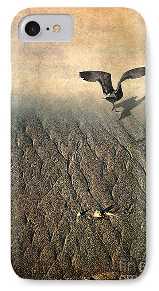 Against The Tide IPhone Case by Ellen Cotton