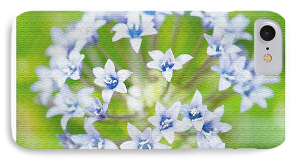 Agapantha Purple Flowers Phone Case by Artist and Photographer Laura Wrede