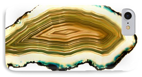 Agate 1 IPhone Case by Gina Dsgn