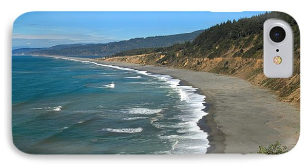 Agate Beach At Patricks Point IPhone Case by Adam Jewell