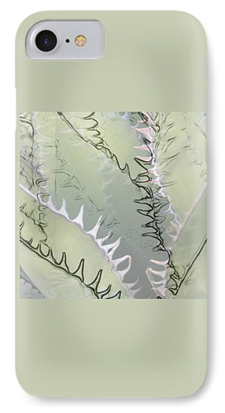 Agave Abstract Phone Case by Ben and Raisa Gertsberg