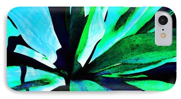 Agave - High Contrast Art By Sharon Cummings IPhone Case by Sharon Cummings