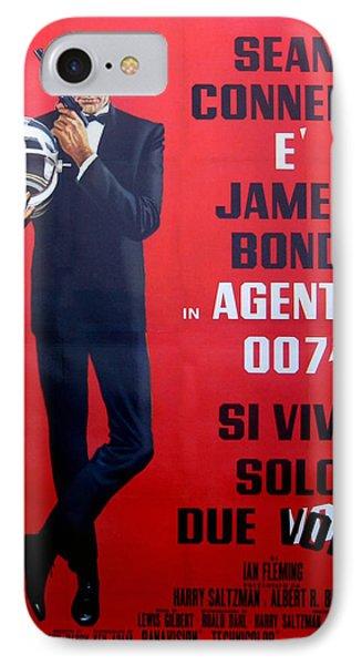 Agente 007 Si Vive Solo Due Volte Phone Case by Georgia Fowler