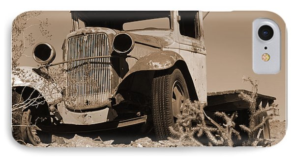 Aging Ford IPhone Case