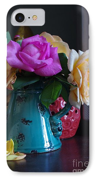 Aging Roses IPhone Case by Tannis  Baldwin