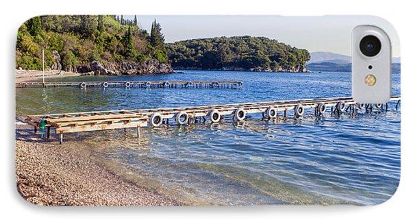 Agni Beach Corfu IPhone Case