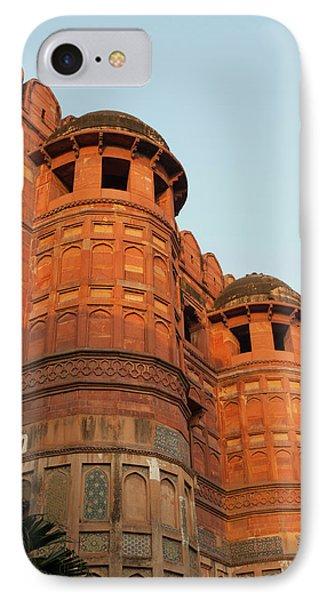 Agra Fort, Agra, Uttar Pradesh, India IPhone Case by Inger Hogstrom